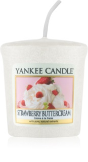 Yankee Candle Strawberry Buttercream votívna sviečka 49 g