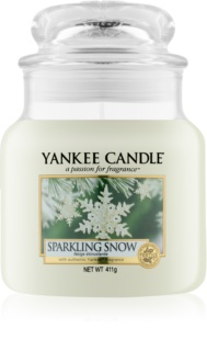 Yankee Candle Sparkling Snow Geurkaars 411 gr Classic Medium