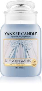 Yankee Candle Blue Satin Sashes Duftkerze  623 g Classic groß