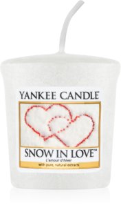 Yankee Candle Snow in Love votívna sviečka 49 g