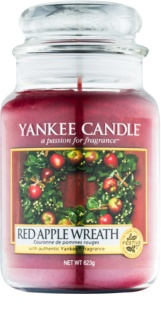 Yankee Candle Red Apple Wreath Duftkerze  623 g Classic groß
