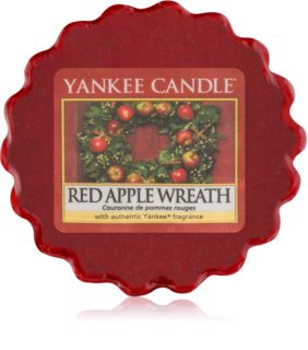 Yankee Candle Red Apple Wreath cera para lámparas aromáticas 22 g