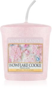 Yankee Candle Snowflake Cookie votivna sveča 49 g
