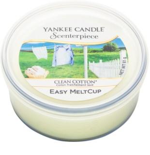 Yankee Candle Scenterpiece  Clean Cotton cire pour brûleur à tartelette électrique 61 g