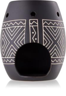 Yankee Candle African Etched lampă aromaterapie din sticlă