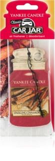 Yankee Candle Sparkling Cinnamon zawieszka zapachowa do auta