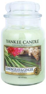 Yankee Candle Lemongrass & Ginger Mirisna svijeća 623 g Classic velika