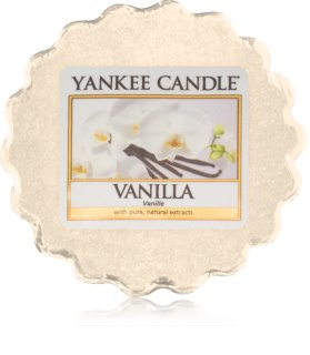 Yankee Candle Vanilla cera para lámparas aromáticas 22 g