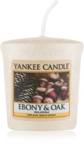 Yankee Candle Ebony & Oak Votivkerze 49 g