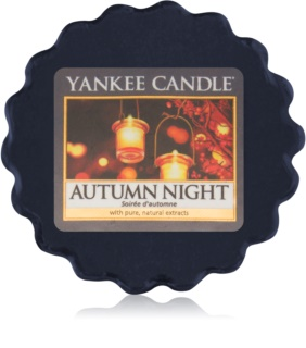 Yankee Candle Autumn Night Wachs für Aromalampen 22 g