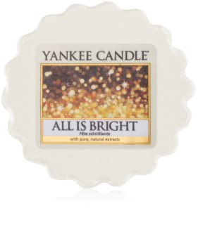 Yankee Candle All is Bright Wachs für Aromalampen 22 g