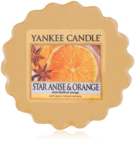 Yankee Candle Star Anise & Orange tartelette en cire 22 g