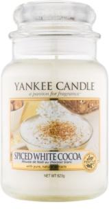 Yankee Candle Spiced White Cocoa αρωματικό κερί Κλασικό μεγάλο