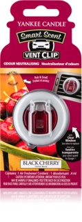 Yankee Candle Black Cherry aроматизатор за автомобил 4 мл. с клипс