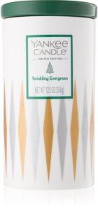 Yankee Candle Twinkling Evergreen vela perfumada 354 g