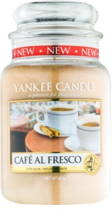 Yankee Candle Café Al Fresco illatos gyertya  623 g Classic nagy méret