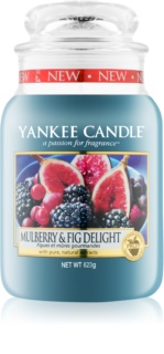 Yankee Candle Mulberry & Fig Αρωματικό κερί 623 γρ Κλασικό μεγάλο