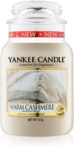 Yankee Candle Warm Cashmere lumânare parfumată  Clasic mare