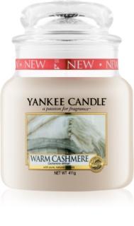 Yankee Candle Warm Cashmere Αρωματικό κερί 411 γρ Κλασικό μέτριο