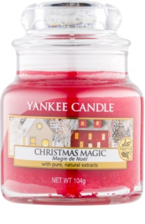 Yankee Candle Christmas Magic vela perfumada Classic pequeno