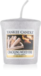 Yankee Candle Crackling Wood Fire votivní svíčka 22 g