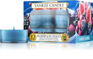 Yankee Candle Mulberry & Fig candela scaldavivande 12 pz