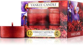 Yankee Candle Vibrant Saffron świeczka typu tealight 12 szt.