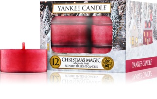 Yankee Candle Christmas Magic čajová svíčka 12 ks