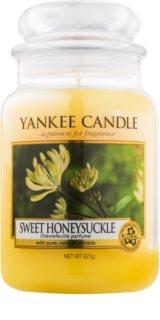 Yankee Candle Sweet Honeysuckle ароматизована свічка  623 гр Classic велика