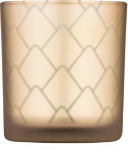 Yankee Candle Modern Pinecone Стъклен свещник за вотивна свещ
