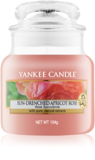 Yankee Candle Sun-Drenched Apricot Rose bougie parfumée 104 g Classic petite