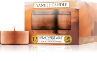 Yankee Candle Warm Desert Wind vela do chá 12 x 9,8 g