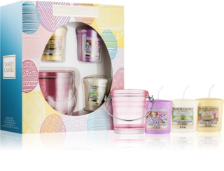 Yankee Candle Easter Egg Gift Set (White Chocolate Bunnies + Sweet Candies + Vanilla Cupcake)
