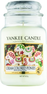 Yankee Candle Cream Colored Ponies Duftkerze  623 g Classic groß