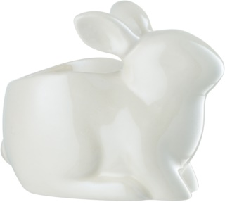 Yankee Candle Pearlescent White Bunny kerámia gyertyatartó teamécsessel