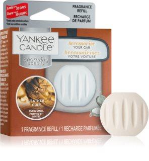 Yankee Candle Leather ambientador auto recarga de substituição