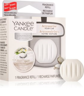 Yankee Candle Fluffy Towels Άρωμα για αυτοκίνητο   ανταλλακτική γέμιση