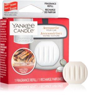 Yankee Candle Sparkling Cinnamon ambientador auto recarga de substituição