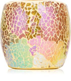 Yankee Candle Glam Mosaic Glass Votive Candle Holder