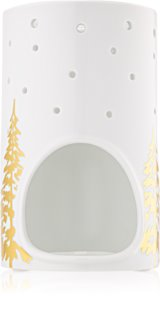 Yankee Candle Winter Trees castiçal em cerâmica para velas de chá