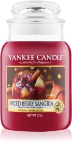 Yankee Candle Spiced Berry Sangria Duftkerze  623 g Classic groß