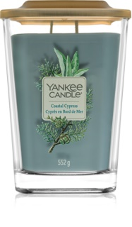 Yankee Candle Elevation Coastal Cypress vela perfumada  552 g grande
