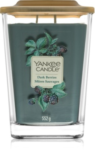 Yankee Candle Elevation Dark Berries vela perfumada  552 g grande