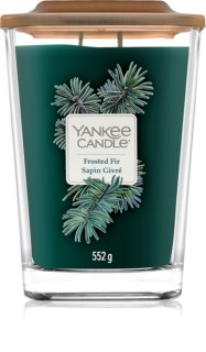 Yankee Candle Elevation Frosted Fir vela perfumado 552 g grande