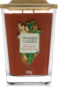 Yankee Candle Elevation Sweet Orange Spice vela perfumada  552 g grande