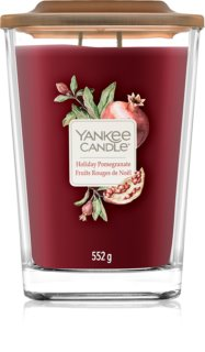 Yankee Candle Elevation Holiday Pomegranate scented candle Large