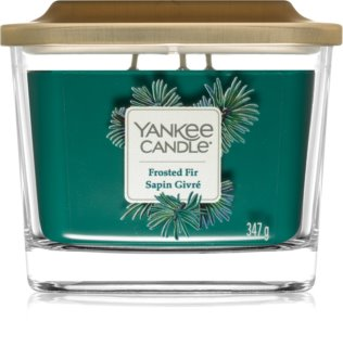 Yankee Candle Elevation Frosted Fir vela perfumado 347 g intermédio