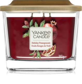 Yankee Candle Elevation Holiday Pomegranate Duftkerze  347 g mittlere