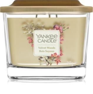 Yankee Candle Elevation Velvet Woods bougie parfumée moyenne
