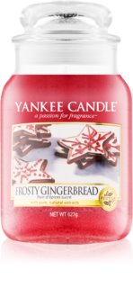 Yankee Candle Frosty Gingerbread vela perfumado 623 g Classic grande